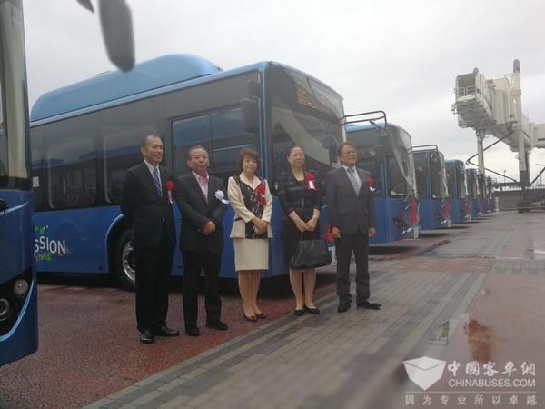 中国客车网现场见证冲绳遇见比亚迪